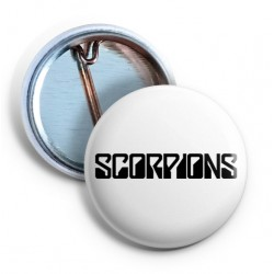 Scorpions Logo Pin