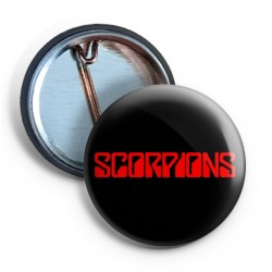 Scorpions Pin