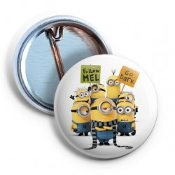 Minions - Follow Mel Pin