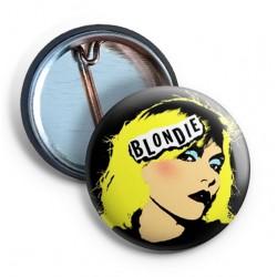 Blondie - POP ART Image Pin