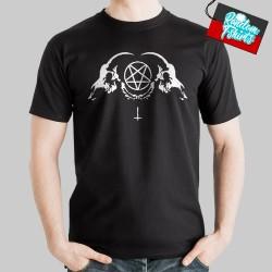 Demonic Baphomet Pentagram Devil Evil demon dragon Goat's Head