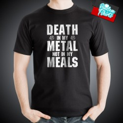 Death in my Metal not in my Meals