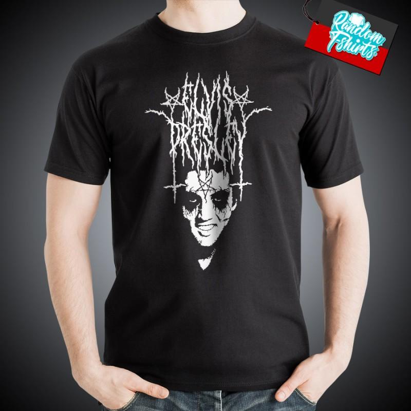 Elvis Presley Black Metal Logo