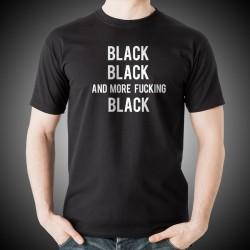 Black Black Black T-Shirt
