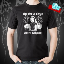 Cliff Burton Tribute Master of Orion T-Shirt