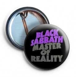 Black Sabbath Master Of Reality PIN grey