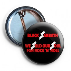 Black Sabbath We sold our soul PIN