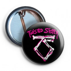 Twisted Sister Logo 2 PIN