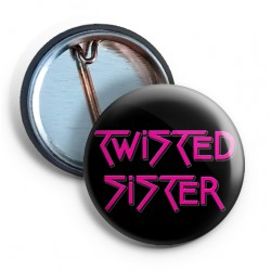 Twisted Sister Logo PIN