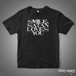 SMILE, SATAN LOVES YOU T-Shirt