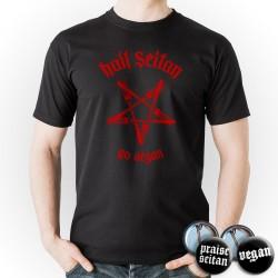Hail Seitan Go Vegan T-Shirt