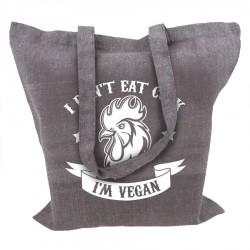 I Dont Eat Cock Im Vegan tygkasse