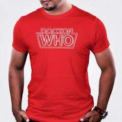 Dr Who Logo Red T-Shirt