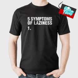 Symptoms of Laziness Front