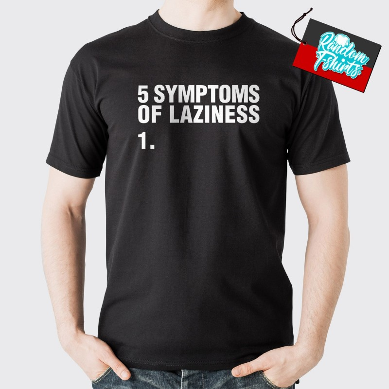 Symptoms of Laziness Front