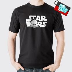 Star Wars Logo med Darth Vader
