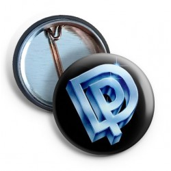 Deep Purple DP Logo Pin