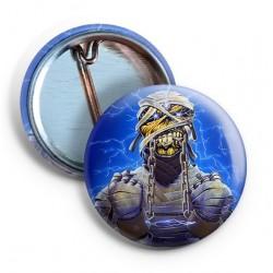 Iron Maiden Powerslave Mummy Pin
